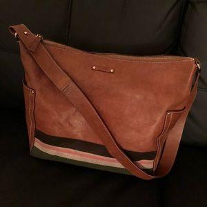 Kate Spade Brown Shoulder Leather Tote